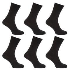 Mens Stay Up Non Elastic Diabetic Socks (Pack Of 6)