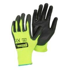 Adults Unisex PU Coated DIY & Gardening Work Gloves