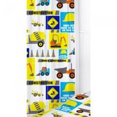 Childrens/Kids Digger Curtains