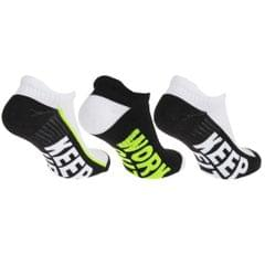 Redtag Mens Sport Trainer/Liner Socks (3 Pairs)
