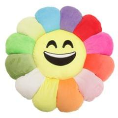 Childrens/Kids Sunflower Emoji Design Filled Plush Cushion (6 Designs)