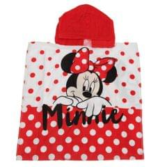 Disney Minnie Mouse Childs Hooded Towel
