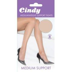 Cindy Womens/Ladies Mediumweight Support Tights (1 Pair)