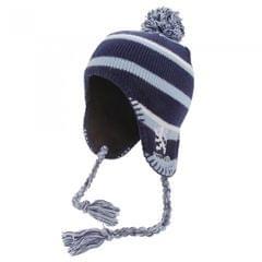 Scotland Childrens/Kids Boys Peruvian Hat With Tassels And Lion Motif