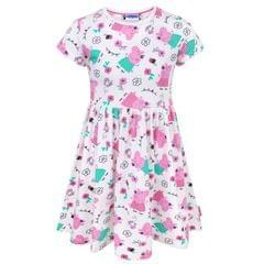 Peppa Pig Childrens Girls Short Sleeved Dress
