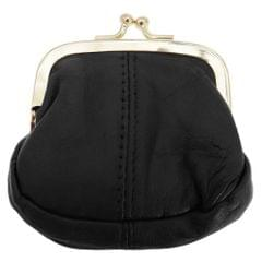 Womens/Ladies Soft Leather Coin Purse With Metal Clasp