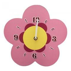 Childrens/Kids Flower Design Duo Clock