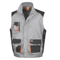 Result Mens Work-Guard Lite Workwear Gilet/Bodywarmer (Breathable And Windproof)