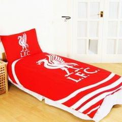 Liverpool FC Official Reversible Pulse Single Duvet Set