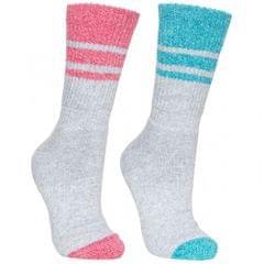 Trespass Womens/Ladies Hadley Hiking Boot Socks (2 Pairs)