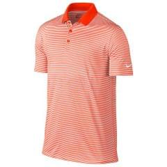 Nike Golf Mens Victory Short Sleeve Mini Stripe Polo Shirt
