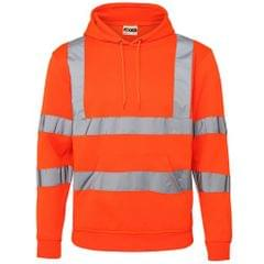 RTY High Visibility Unisex Reflective Hoodie