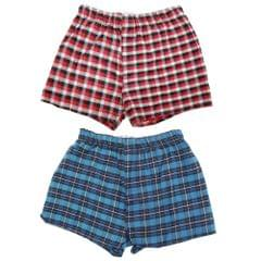 4KIDZ Childrens Boys Boxers Underwear (2 Pairs)