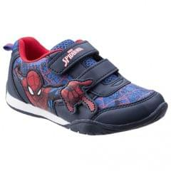 Leomil Childrens Boys Spiderman Web Touch Fastening Sneakers