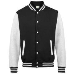 Awdis Kids Unisex Varsity Jacket / Schoolwear