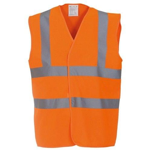 Yoko Unisex Premium Hi-Vis Waistcoat Vest / Jacket