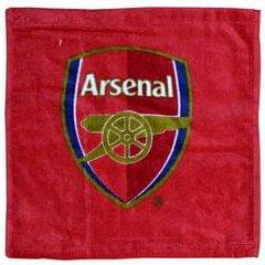 Arsenal FC Official Football Crest Face Cloth / Flannel Set (Pack Of 12)