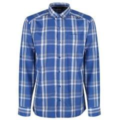 Regatta Mens Mindano Checked Long Sleeve Shirt