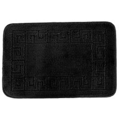 Euroban Small Rectangular Swirl Bath Mat