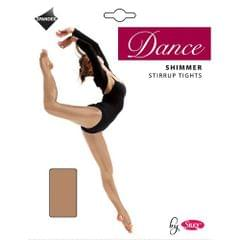 Silky Big Girls Dance Shimmer Stirrup Tights (1 Pair)