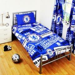 Chelsea FC Childrens/Kids Official Patch Football Crest Duvet Set