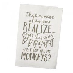 Heaven Sends The Moment When You Realize… Tea Towel