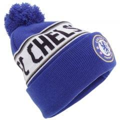 Chelsea FC Official Cuffed Knitted Winter Beanie Hat