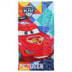 Disney Cars Childrens Boys Lightning McQueen Printed Beach Towel