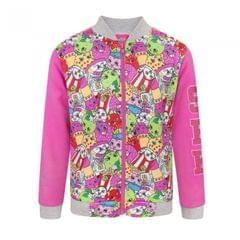 Shopkins Childrens Girls Bomber Jacket