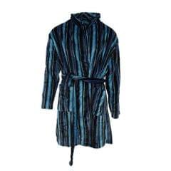 Pierre Roche Mens Super Soft Stripe Design Dressing Gown/Robe