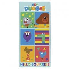 Hey Duggee Hello Squirrels Towel