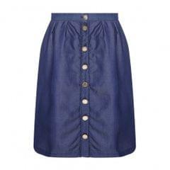 Yumi Womens/Ladies High Waist Chambray Skirt