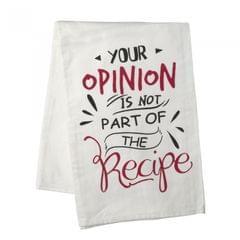 Heaven Sends Your Opinion… Cotton Tea Towel