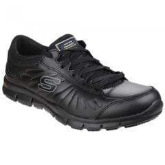 Skechers Occupational Womens/Ladies Eldred Slip Resistant Lace Up Work Shoes