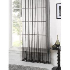 Lucy Plain Colored Voile Panel Curtain