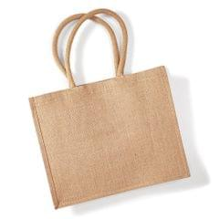 Westford Mill Classic Jute Shopper Bag (21 Liters)