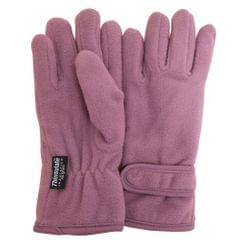 FLOSO Big Girls Childrens/Kids Plain Thermal Fleece Gloves (3M 40g)