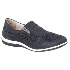 Boulevard Womens/Ladies Suede/Textile Shoes