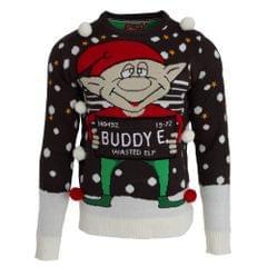 Brave Soul Mens Buddy Elf Christmas Jumper