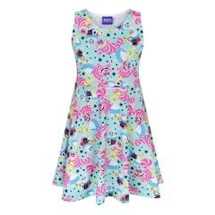 Disney Childrens Girls Alice In Wonderland Skater Dress