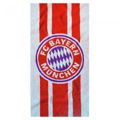 FC Bayern Munich Official Soccer Crest Design Beach Towel
