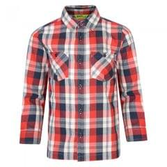 Regatta Great Outdoors Childrens/Kids Noster Long Sleeve Checked Shirt