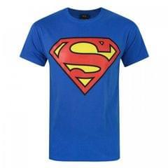 Superman Herren Großes Schield Logo T-Shirt