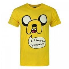 Adventure Time Herren Jake I Choose Sandwich T-Shirt