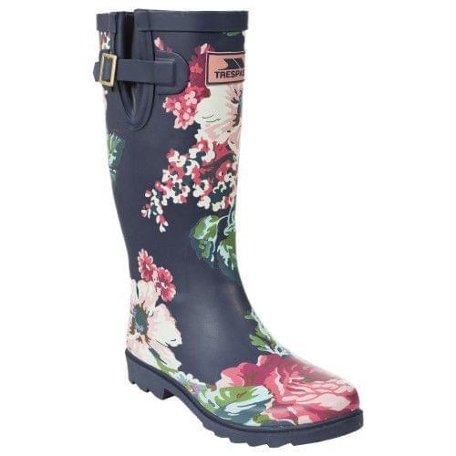 Trespass Womens/Ladies Elena Floral Blossom Print Wellington Boots