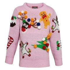 Christmas Shop Childrens/Kids Mix And Match Christmas Sweater