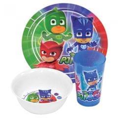 PJ Masks Official 3PC Dinner Set