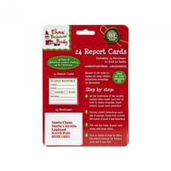 Christmas Shop Mini Report Cards With Envelopes (Pack Of 24)