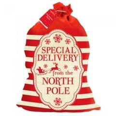 Home Collection Special Delivery Santa Sack