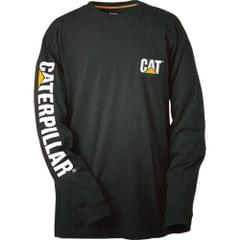 Caterpillar Trademark Banner L/S Tee / Mens T-Shirts / Tee Shirts
